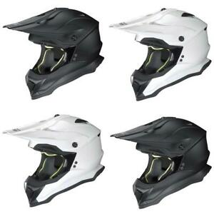 Nolan N53 Smart Motocross Helmet Off Road Motorcross Crash Lid MX Plain