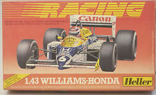 (PRL) WILLIAMS-HONDA 1:43 AUTO CAR VOITURE MONTAGGIO MODELLINO MODEL HELLER