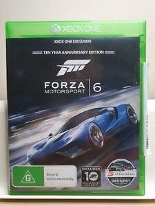 Forza Motorsport 6 for Microsoft Xbox One &Series X XB1 Xbone | 2015 | Top Gear
