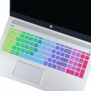 """Colorful Keyboard Cover For HP Envy x360 15.6"""" Series /2019 2018 HP Pavilion"""