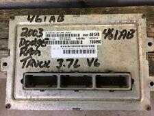 2003 03 Dodge RAM TRUCK 3.7L GAS Engine Computer  ECM ECU PCM 56040461AB 461