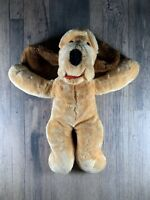 Vintage 1980s Ganz Wrinkles Stuffed Very Rare Plush Golden Dog Stuffed Toy