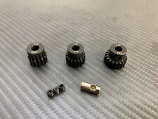 Mod .8 32P Steel Pinion Gear Set 15T 17T 19T Fits 32 Pitch Spur Gear 1/10 RC Car