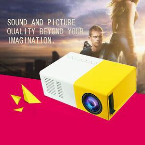 Mini Pocket LED Home Cinema Projector HD 1080P LCD Portable Cinema HDMI USB L1SO