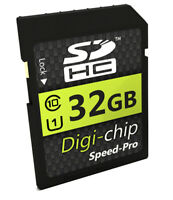 Digi Chip SD Memory Card for Sony Alpha a6000, a5100, Alpha 7s, 7 II, 7R II