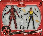 """Marvel Legends 6"""" Deadpool + Negasonic Teenage Warhead X-Men Movies Pack Sealed"""