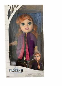 """Disney Frozen 2 Anna Adventure 13"""" Doll NEW"""