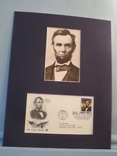 Abraham Lincoln honored by First day Cover of his stamp