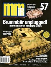 Military Miniatures In Review Magazine No 57 Cyberhobby Brummbar & sIG 33 15cm