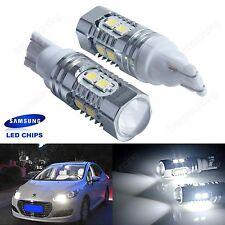2x Weiß 194 921 SAMSUNG 10W T LED Innenbeleuchtung Standlicht Leuchtmittel 12V