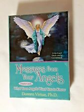 New listing New Sealed Messages from your Angels Oracle Cards Guidebook Doreen Virtue Set