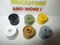 Lego - Wheel 18mm D. x 14mm Pin Hole 55981 - Choose Quantity & Color