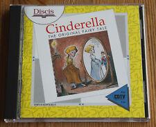 Commodore cdtv Cendrillon The Original Faery Tale (Amiga, 1991, Jewel-Case)