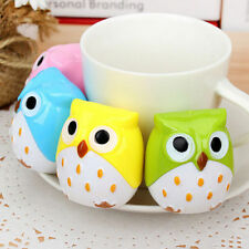 Funny Lovely Attractive Owl Bird Pencil Sharpener School Stationary Random FB