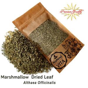 Marshmallow Leaf (Althaea) Dried Herb Leaves Premium Infusion Smoking Tea
