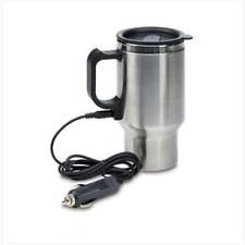 Heated Auto/Travel Coffee Mug *Stainless Steel* 12 VDC