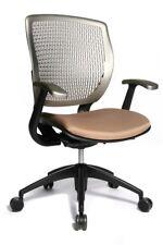 Topstar Drehstuhl Bürostuhl Air Point, Armlehnen, ergonomischer Sitz hellbraun