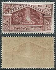 1930 REGNO VIRGILIO 5 LIRE MNH ** - E57