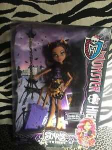 Monster High Doll Scaris City of Frights Clawdeen Wolf 2012 Mattel Y0379 NEW