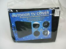 "30""-32"" OUTDOOR TV COVER WEATHERPROOF, WATERPROOF, REMOTE POCKET, 360 PROTECTION"