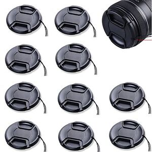10pcs 40.5mm Center Pinch Snap on Front Cap for ALL canon nikon sony Lens