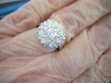 Handmade Natural Solitaire with Accents Fine Rings