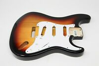 Eden® Standard Series DIY Paulownia Strat Guitar Body 3 Tone Sunburst