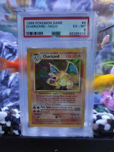 Pokemon Base Set 4/102 Charizard Holo Unlimited PSA 6 WOTC
