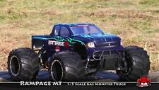 REDCAT Rampage MT V3 1/5 Scale Gas 2.4GHz RC 4WD Monster Truck - GREEN/FLAME
