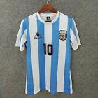 MARADONA Retro Football Jersey World Cup 1986 Argentina Shirt Team Adult UK Size