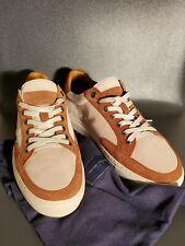 NIB Peter Millar Suede Two Tone Skyline Men's Sneakers Shoes Size 11.5 $298