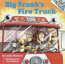 Big Frank's Fire Truck (Pictureback(R))-ExLibrary