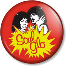 "Soul Glo Coming to America 1"" Pin Button Badge Movie Hair Glow Eddie Murphy 80s"