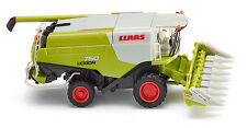 Wiking Claas Lexion 760 Combine with Conspeed Corn Header HO Scale (suit OO)