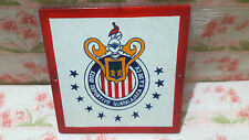 NAUTICAL SHIP VINTAGE''CLUB DEPORTIVO GUADALAJARA .S.A.DE.CV''WOODENSHIELD  S091