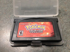 POKEMON ERUPTION GBA Gameboy Advance DS Plastic Protective Case