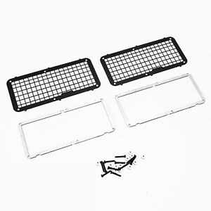 1 Set Stainless Steel Side Window Net Guard for RC4WD 1:18 D90 installation