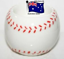YANKEE CANDLE Tealight HOLDER ~ BASEBALL ~ FROM THE BASEBALL COLLECTION