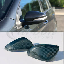 VW Golf MK6 Real Carbon Fibre Wing Mirror Covers 2009-2013 GTI TDI GT Golf R