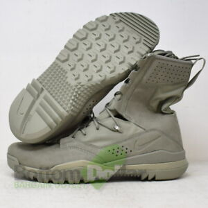 """Nike AO7507-201 Men's SFB Field 2 8"""" Military Boots Sage Green Olive"""