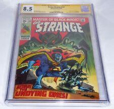 Doctor Strange #183 CGC SS Signature Autograph STAN LEE Last Issue Sub-Mariner