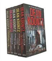 Frankenstein Dean Koontz Books 1 to 5 in Series Crime Horror Fiction Pack New
