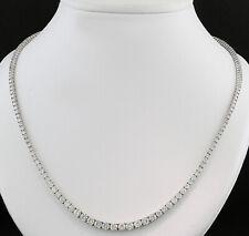 Brillant Collier 10,00 carat! 750er Weißgold Top Qualität Wert 47.000 Euro Neu