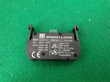 Benedikt Jager B3T Switch Contact Block N/O Contacts