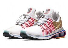 Men's Shox Gravity Size 9.5 Running Shoes - Vast Grey Metallic Gold (AQ8553-009)