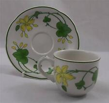 Villeroy & and Boch GERANIUM - coffee cup and saucer EXCELLENT