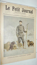 PETIT JOURNAL 1897 NANSEN POLE NORD / NAVIRE SISSOÏ-VELIKY / INSECTES NUISIBLES