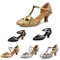 Women's Girl's lady's Ballroom Latin modern Tango Dance Shoes Salsa Dancing shoe