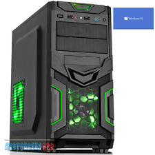 AMD Quad Core 8gb 1tb Desktop Gaming PC Computer HD ultra rapida di Windows 10 jf961