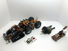 Lego Ninjago Lot: Dieselnaut 70654 + bases for other two vehicles